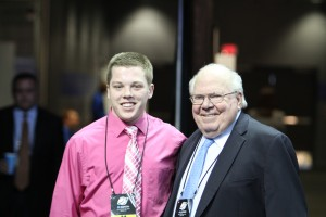 Verne Lundquist and I