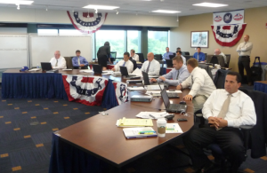 Brewers Draft Room